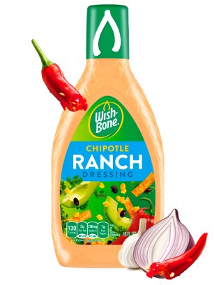 Salsa Ranch Chipotle 444 ml