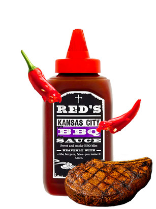 Salsa Barbacoa Red's Kansas City Style | 320 grs.
