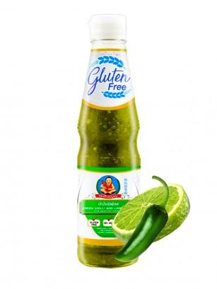 Salsa de Chili Verde y Lima para Marisco | Sin Gluten 345 grs.