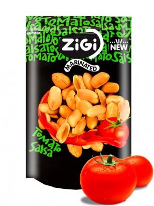 Snack de Cacahuetes sabor Salsa de Tomate 91 grs.
