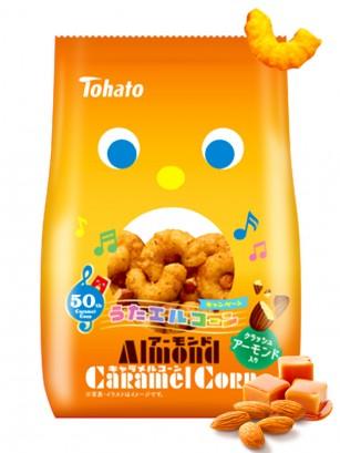 Snack Lovely Tohato Caramelo con Almendras 70 grs