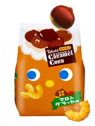Snack Lovely Tohato Sabor Marrón Glacé 77 grs