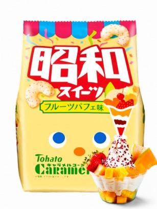 Snack Lovely Tohato Helado Fruit Parfait | Caramel Corn 77 grs | Pedido GRATIS!