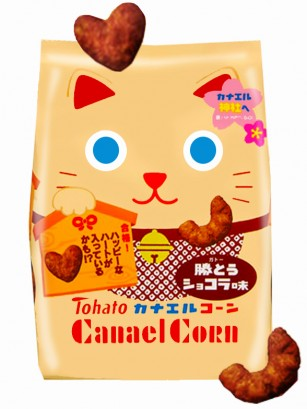 Snack Lovely Maneki Neko Tohato de Chocolate 77 grs.
