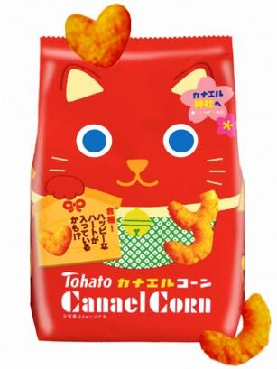 Snack Lovely Maneki Neko Tohato Caramelo con Cacahuetes 80 grs.