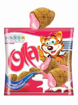 Cereales Almohadillas Snack rellenos de Fresa 200 grs