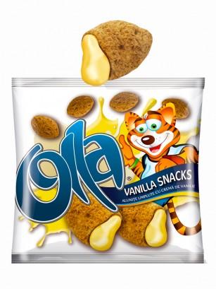Cereales Almohadillas Snack rellenos de Vainilla 200 grs