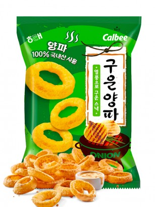 Snack Coreano Sabor Cebolla al Grill 70 grs.