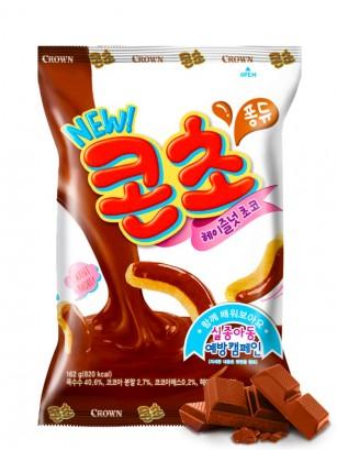 Ganchitos Coreanos Salados Bañados con Chocolate | 66 grs.