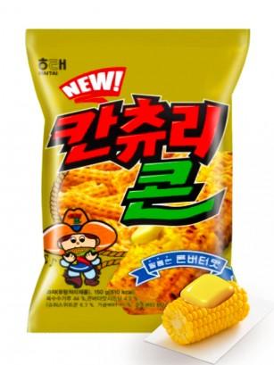 Snack Coreano de Maíz con Mantequilla 90 grs.