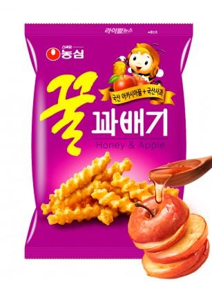Twist Snack Coreano con Arroz, Miel y Manzana
