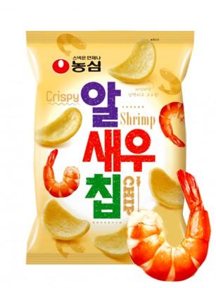 Chips Coreanas de Pan de Gambas | 45 grs.