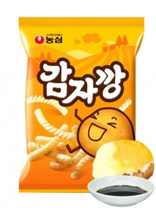 Snack Coreano de Patata Asada, Shoyu y BBQ
