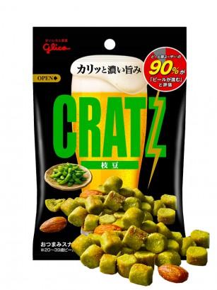 Snack Cratz Edamame | Glico 42 grs