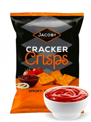 Crackers Sabor Smoky BBQ 150 grs.