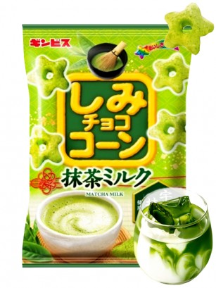 Snack Magic Puff Stars Sabor Té Matcha con Leche 55 grs.