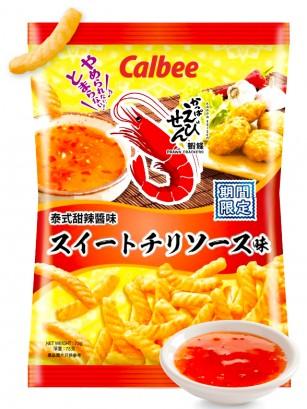 Snack Calbee Sabor Gambas Thai Sweet Chilli 75 grs.