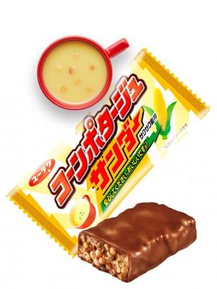 Snack Japonés de Arroz con Chocolate y Crema de Maíz 17 grs.