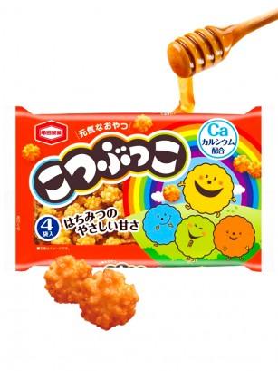 Snack Japonés de Arroz Crujiente Kotsubukko con Miel 110 grs.