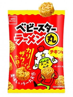 Snack Japonés Baby Star Chicken Ramen Maru | Unidad 21 grs.