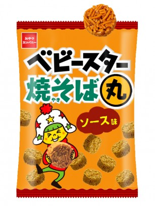 Snack Japonés Baby Star Yakisoba Maru | Unidad 21 grs.