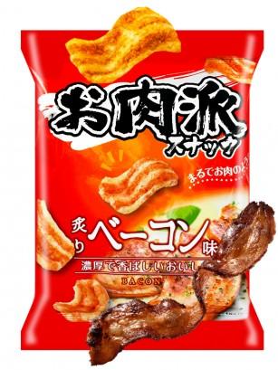 Snack Japonés Sabor Bacon Asado con Soja 52 grs.