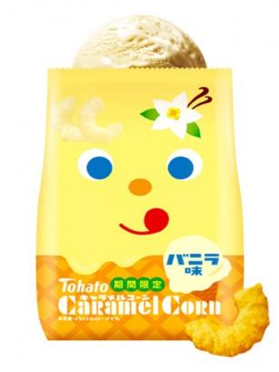 Snack Lovely Tohato Helado de Vainilla | Caramel Corn 77 grs