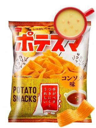 Snack Japonés sabor Consomé Potesuma 61 grs.