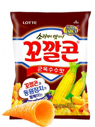 Snack Coreano de Maíz Dulce | Lotte 72 grs