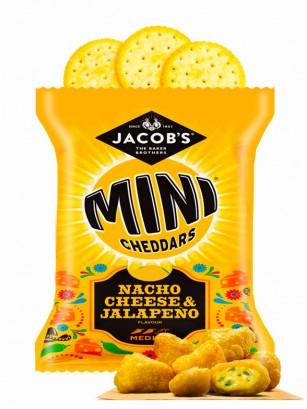 Galletitas Mini Cheddar Sabor Nachos con Queso y Jalapeños 25 grs