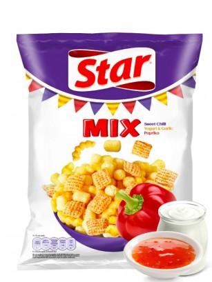 Snack Mix Dulce picante, Yogur-Ajo y Paprika | Star Pepsi 90 grs