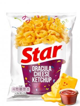 Snack Mix de Queso Drácula y Aros de Ketchup | Star Pepsi 80 grs