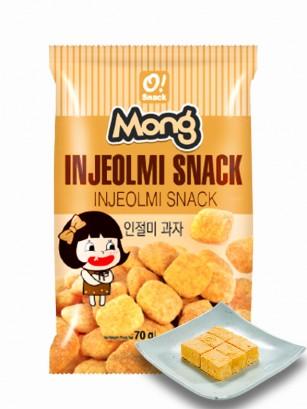 Snack Coreano Sabor Mochi Injeolmi Kinako 70 grs.