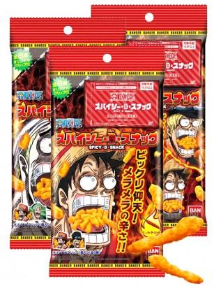 Snack de Maíz Picante | One Piece | 3 Diseños Diferentes  35 grs. | Pedido GRATIS!