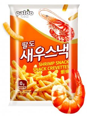 Snack Coreano Sabor Gambas a la Parrilla | Receta Paldo 75 grs.