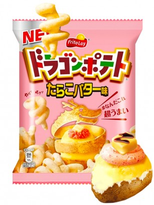 Snack Dragon Patata Asada Sabor Tarako y Mantequilla 45 grs