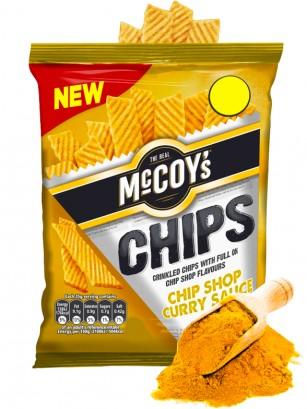 Chips de Patata McCoy's sabor Salsa de Curry 70 grs.