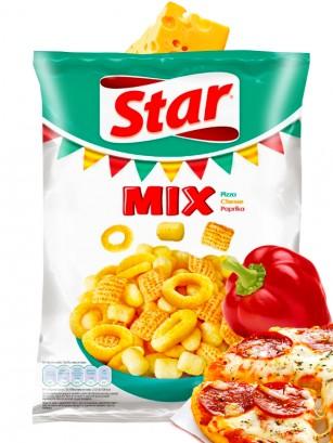 Snack Mix de Pizza, Queso y Paprika | Star Pepsi 90 grs