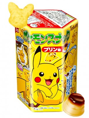 Snack Pikachu Sabor Pudding 23 grs.