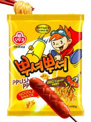 Ramen Snack Coreano Sabor BBQ 90 grs.