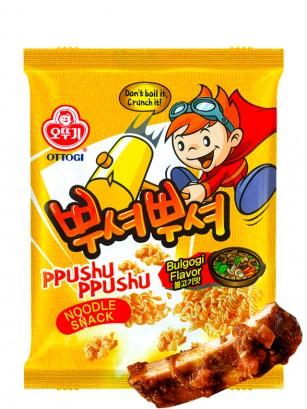 Ramen Snack Coreano de Ternera Bulgogi 90 grs.