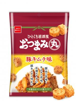 Snack Japonés Ramen con Sabor a Cerdo con Kimchi | Izakaya 50 grs