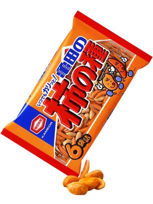 Mix de Snack de Arroz Senbei y Cacahuetes Big 200 grs.