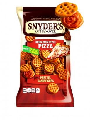 Bocaditos Pretz rellenos de Pizza | Snyder's 226 grs.