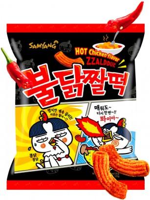 Snack Coreano Topokki Receta Ramen Coreano ULTRA HOT 120 grs