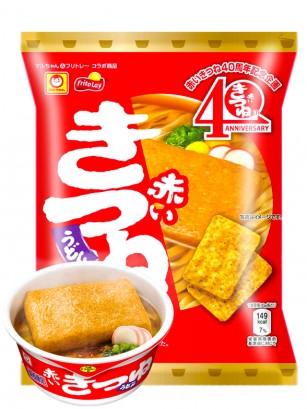 Snack Tortillas Maíz Especial Sabor Udon Kitsune | Maruchan 65 grs