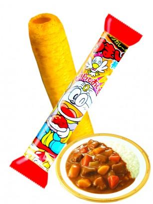 Snack Roll de Maiz Sabor Curry y Pollo | Umai-Bo