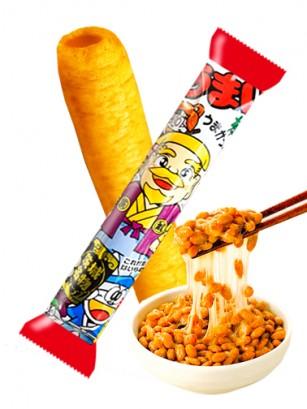 Snack Roll de Maiz Sabor Natto | Umai-Bo | Pedido GRATIS!