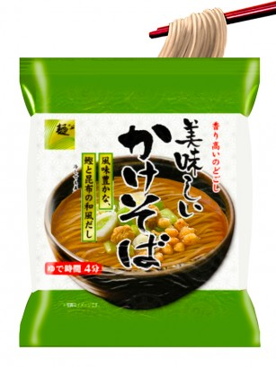 Fideos Shoyu Soba | Receta de Sapporo 80 grs.