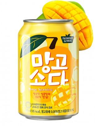 Soda Coreana Sabor Mango 350 ml.